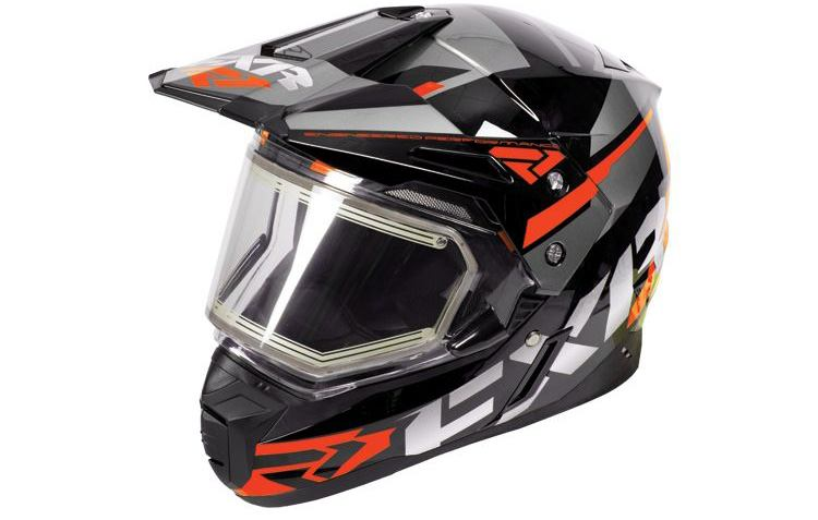 FXR FX-1 Team Helmet with Electric Shield