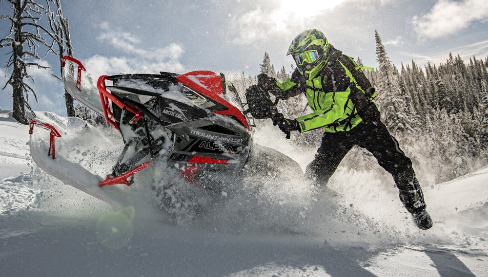2021 Arctic Cat Mountain Cat Alpha One