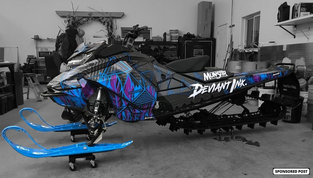Be Bold, Not Basic with Deviant Ink Sled Wraps - Snowmobile.com