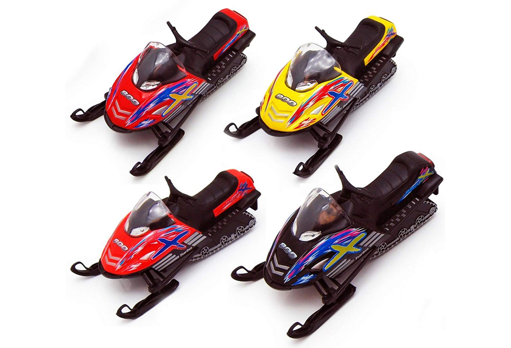Die-Cast Snowmobile Toy