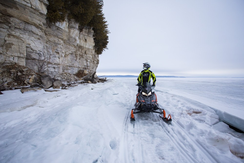 It doesn't take long to see why Ontario is a great place for a snowmobile trip.
