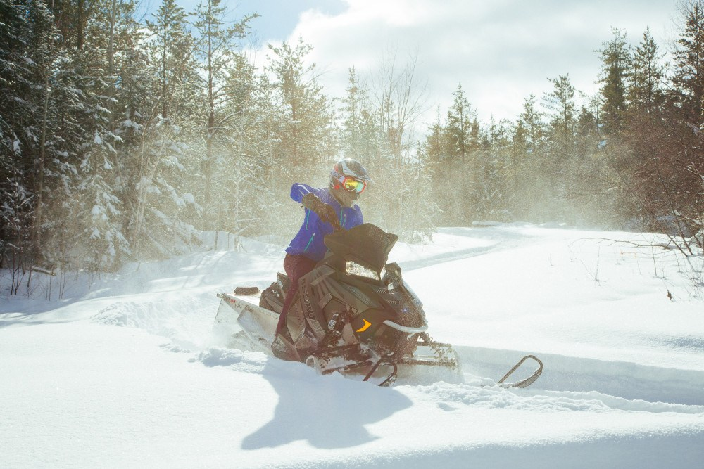 Ontario is home to miles and miles of great snowmobile trails.
