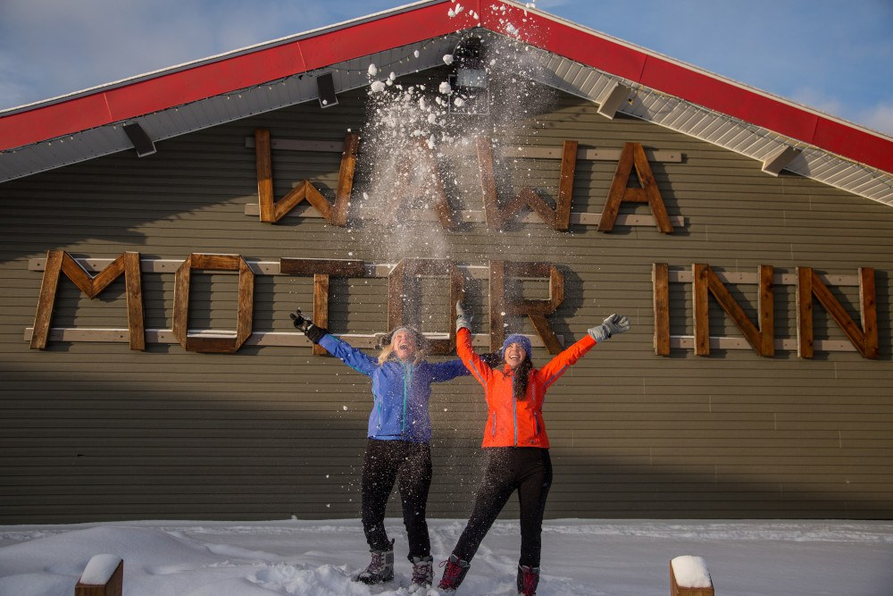 The Wawa Motor Inn makes a great stop for any Ontario snowmobile trip.