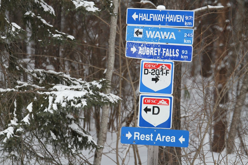 There's plenty of great snowmobiles trails in Ontario.