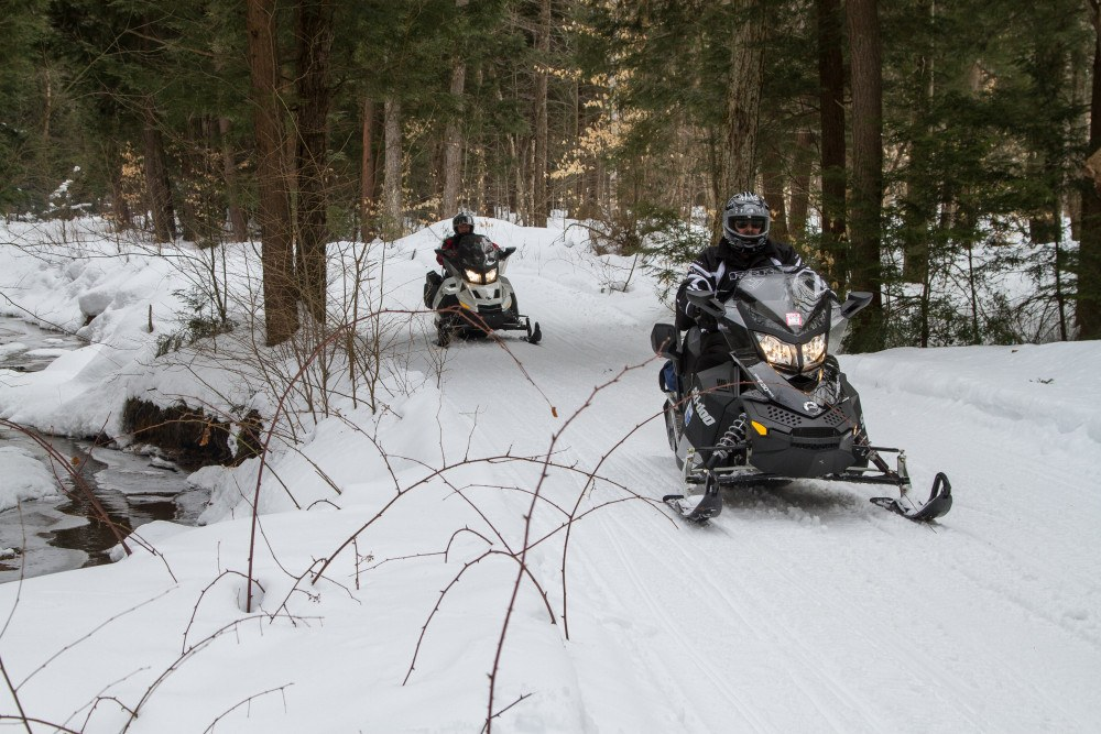 You don't have to head due north to experience Ontario by snowmobile. The Muskokas offer plenty of great trails for a trip.