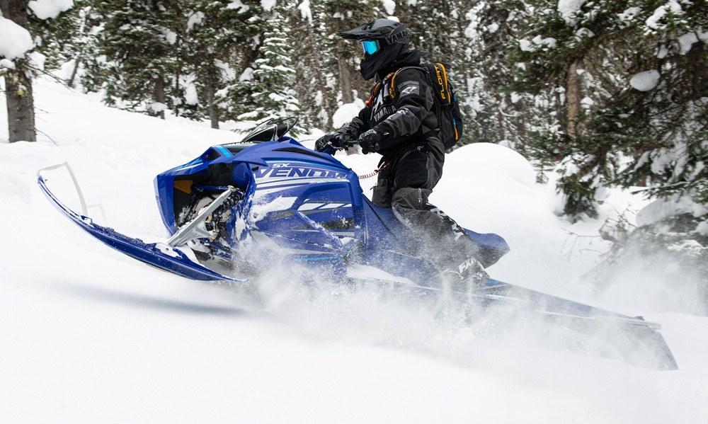 2021 Yamaha Mountain SX Venom Action