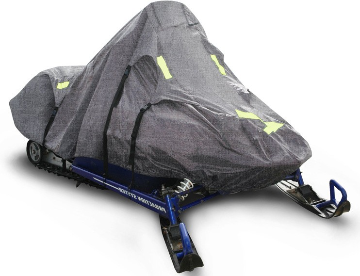 Another affordable option on our best snowmobile covers list is the RipStop Trailerable Snowmobile Cover from Budge.
