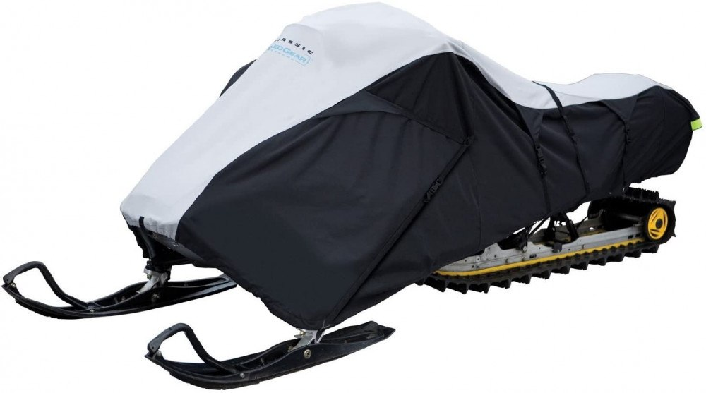 For those looking for a universal, all-purpose cover, the Classic Accessories Deluxe Snowmobile Travel Cover is a great option at a great price, making it one of the best snowmobile covers out there.