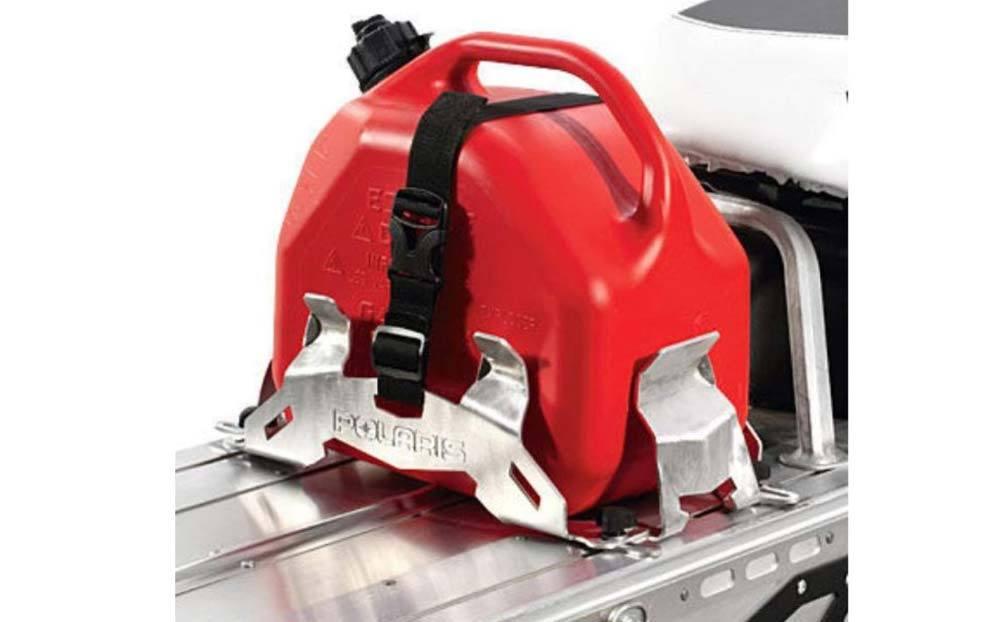 Polaris Snowmobile Gas Can Rack