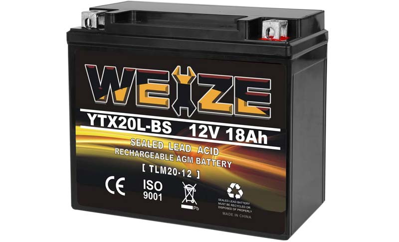 Weize Snowmobile Battery