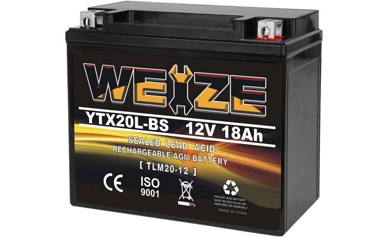 Weize Snowmobile Battery
