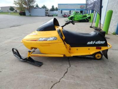 Used 2000 Ski Doo Mini Z For Sale Used Snowmobile