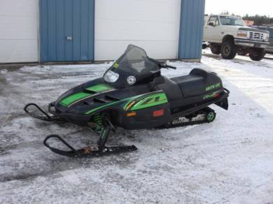 2000 Arctic Cat ZL 580 EFI Esr For Sale : Used Snowmobile ...