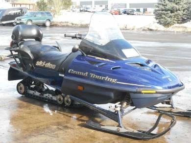 1999 Ski Doo Grand Touring 500 For Sale Used Snowmobile