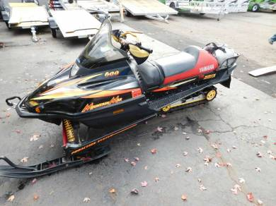 1999 Yamaha Mountain Max 600 For Sale Used Snowmobile Classifieds
