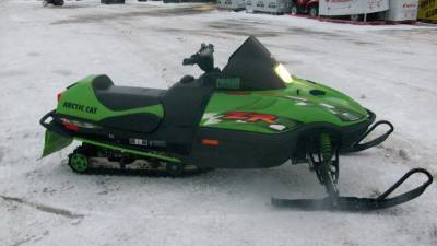 2001 Arctic Cat Zr 500 Efi For Sale Used Snowmobile