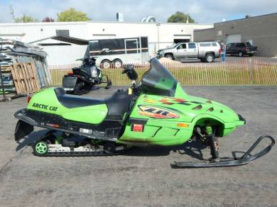 Used 1999 Arctic Cat ZR 700 For Sale : Used Snowmobile ...