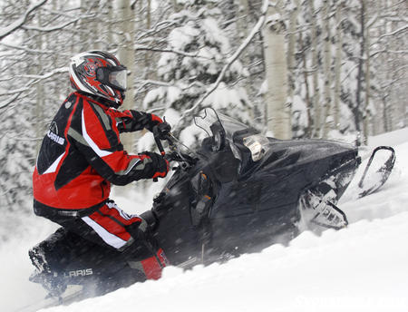 Dollar per horsepower, the 800 RMK Shift may be the best buy in snowmobiling.