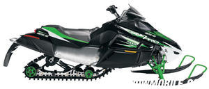 Just about any rider can be fitted to the new F1000 Sno Pro thanks to its adjustable seat, handlebar and footrests.