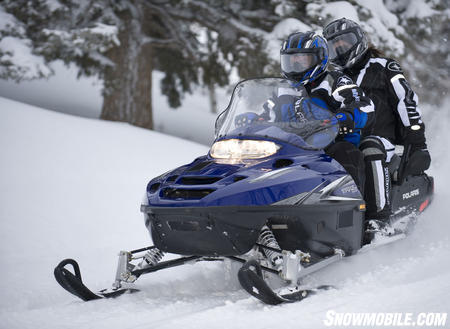 Reliability and durability come at an affordable price with the 2009 Polaris Trail Touring.