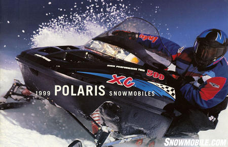 Polaris Indy led sales for more than decade with minimal changes in 1999.