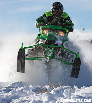 Push the Sno Pro 500 as hard as you like, it's got a snocross pedigree.