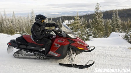 The GSX LE is well suited for serious, high-mileage riders.