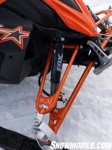 Premium Fox Float shocks highlight Yamaha's RTX model.