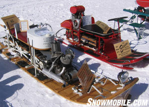 Even though early sleds like the Eliason used 4-stroke engines, it was the Yamaha RX-1 that made them viable for today.