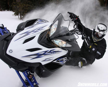 The Yamaha Apex MTX has such a broad range of balance It gives almost any rider at any skill level a great confidence on one ski.