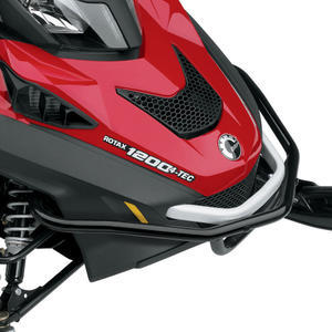 This heavy-duty bumper protects the Expedition's nosepiece in off-trail riding.