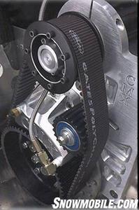 Crazy Mountain Extreme's belt Drive System. (Photo courtesy CMX)