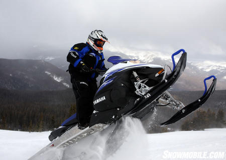 With its 130 horsepower even the base Nytro MTX can pack its skis up a mountain in the Colorado Rockies.