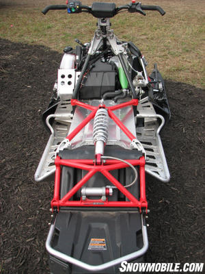 The current suspension design can be modified for more usages such as touring or hardcore terrain running.
