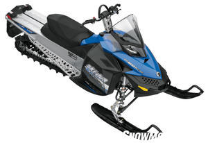 The lightweight 600 Summit models utilize the latest REV-XP chassis to minimize curb weight.