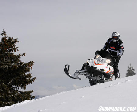 When riding in the deepest powder nothing will even stay close with this M1000.