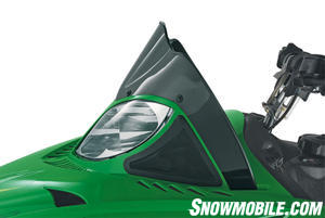 Unique FrogSkinz membrane vent covering deflects snow and moisture.