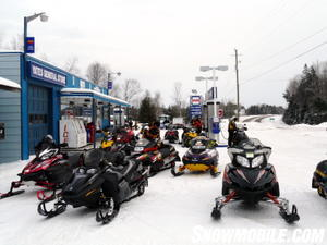 Ample snowmobile-friendly service stations, lodgings, and restaurants help make Ontario's trails very user friendly.