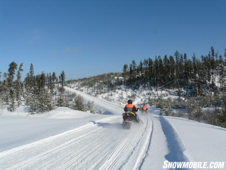 Ontario has no shortage of the white stuff. A snowy carpet covers the province's trails all winter long.