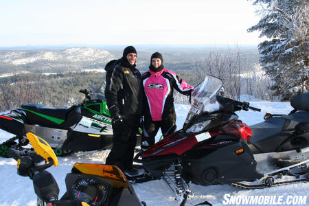 With 40,000 kilometers of trails at your disposal, you can have a new experience every time you ride in Ontario.