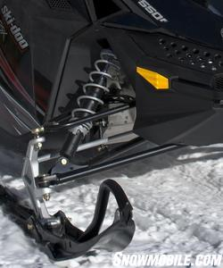 Motion Control shocks come standard on the GSX Sport suspensions — front and rear.
