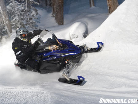 """The """"base"""" Apex comes with power assisted steering and an across-the-power curve torque boost thanks to Yamaha's EXUP technology."""