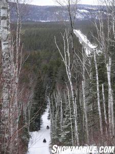 Wide open trails abound in Elliot Lake.