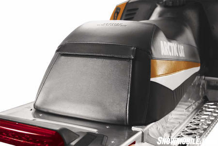 You'll find ample seat storage on the 2011 Crossfire.