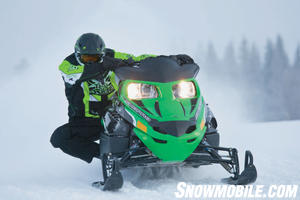 Adding Sno Pro features to the Z1 changes its on-trail persona.