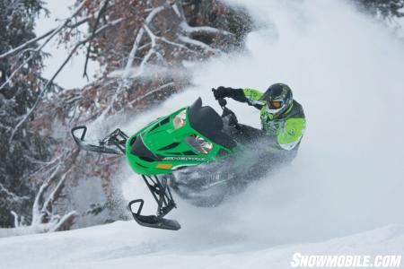 Getting rude air is easy with the new Z1 Sno Pro.