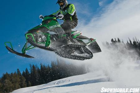 It's impossible not to have fun on this sled.