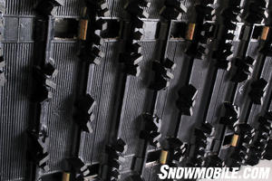 The Venture track measures 144-inches and features a snow-gripping RipSaw pattern with 1.25-inch lugs.