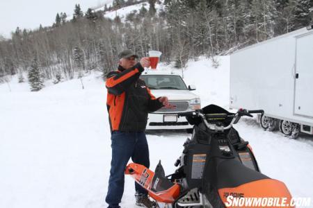 2011 Mountain Sled Evaluation