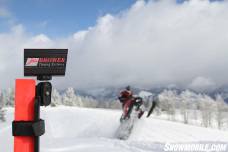 2011 Mountain Sled Evaluation Timing Light